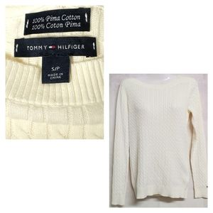 Like New Tommy Hilfiger Cable Knit Sweater